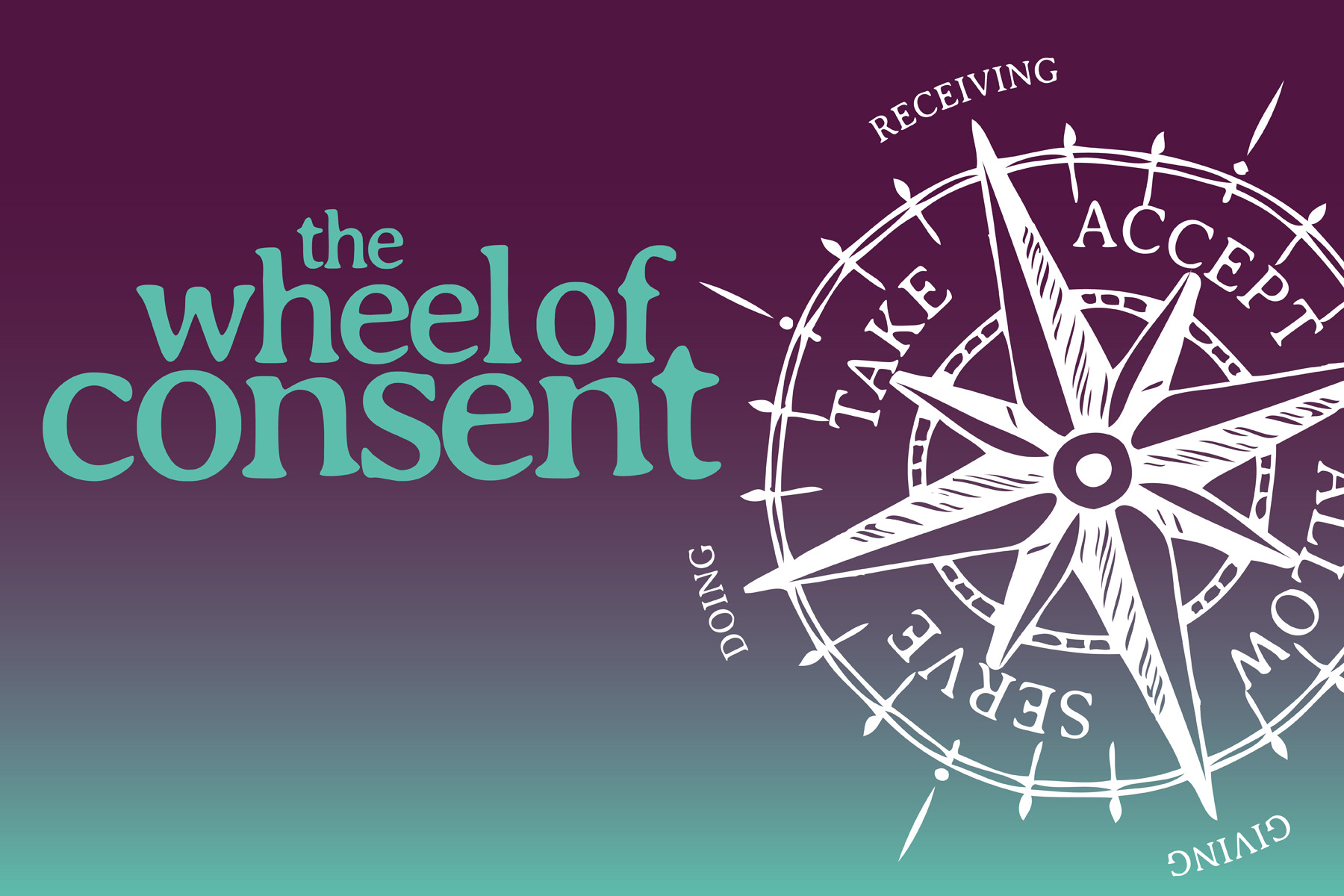 image showing the wheel of consent